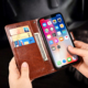 Wholesale High Quality Customized PU Leather Flip Wallet Protective Mobile Cell Phone Back Case for Alcatel Shine Lite 5080X
