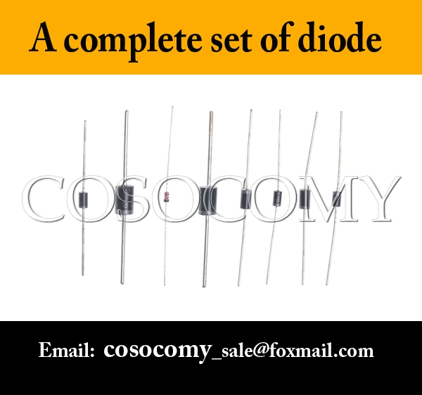 A complete set of diode different kinds of diode including 1N5822