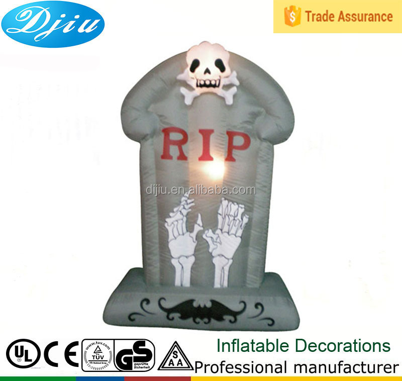 HALLOWEEN CEMETARY TOMBSTONES HAUNTED HOUSE INFLATABLE AIRBLOWN Decoration