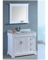 White Under Sink Basin Cabinet Cupboard Bathroom Furniture Storage Unit