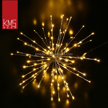 2017 Warm White Sparkle Ball Led Lights Christmas Outdoor Decoration