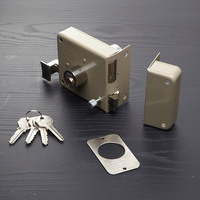 Brass waterproof Security 558b door rim lock manufacturer