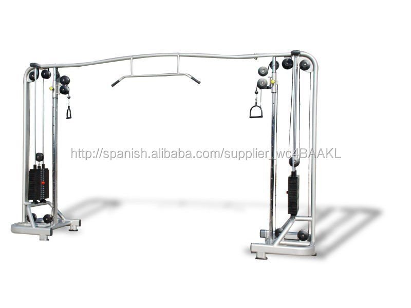 Aparatos de gimnasia equipo gimnasio cable crossover for Productos gimnasio