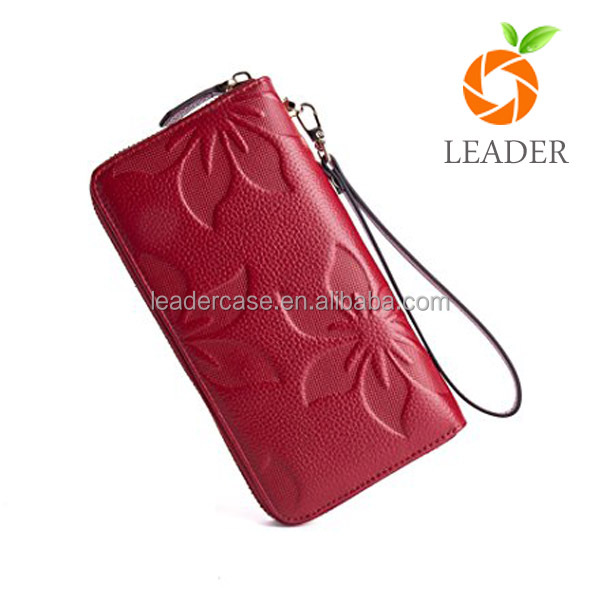 6395bd4bda Custom Wholesale Small Order Smart Genuine Leather Wallets For Men Women