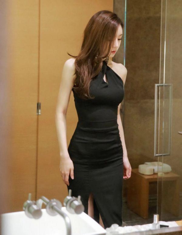 Sexy Asian Evening Dress