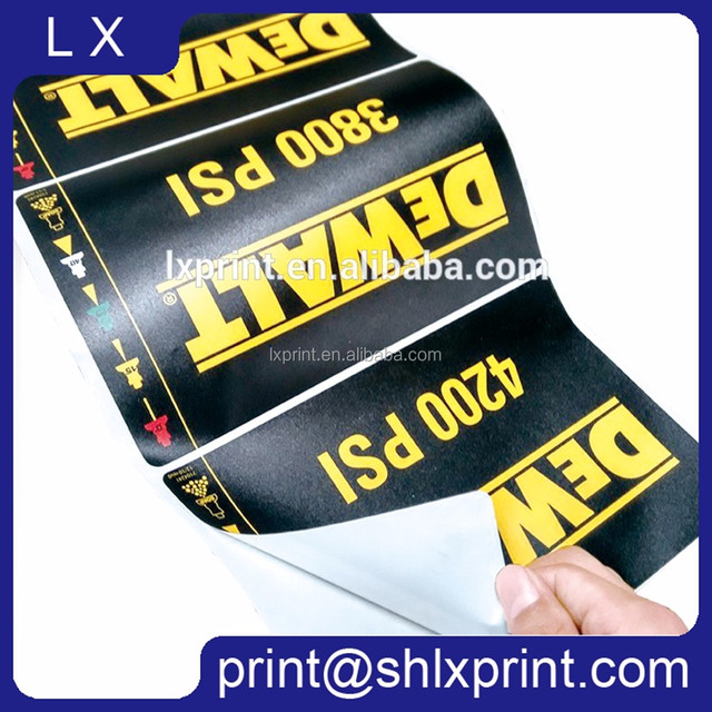 Outdoor custom printed car painting sticker