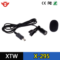 Wholesale Action Camera Microphone with Lapel Clip, Foam and Furry Windscreens For Gopro Hero 3+