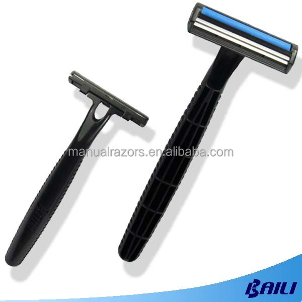 Wholesale Disposable shaving straight Razor Twin Blades For male
