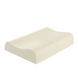 Deep sleeping natural rubber latex ergonomic bed rest pillow smaller