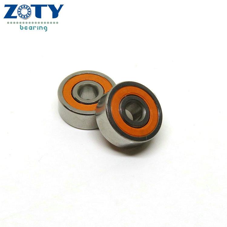 S697-2RS 7x17x5 mm 1 PCS ABEC-7 440c Stainless Steel CERAMIC Ball Bearing