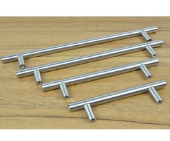 10pcs/box C.C:96mm Stainless Steel T Bar <strong>Handle</strong> Europe Kitchen Cabinet <strong>Handles</strong> and Knobs dresser cupboard door <strong>handles</strong>