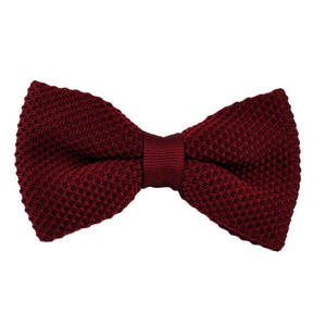wholesale classical woven stripe bow tie
