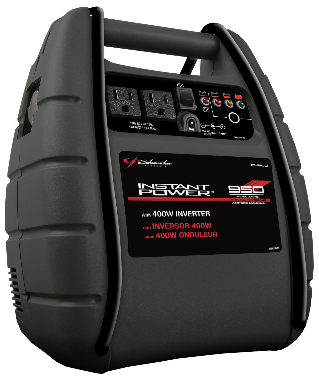 Schumacher IP-1800I Instant Power 950 Peak Amps Jump Starter with 18Ah Internal Battery