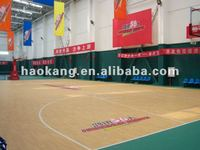 sport flooring/wood pattern/4.5mm/Basketball court surface