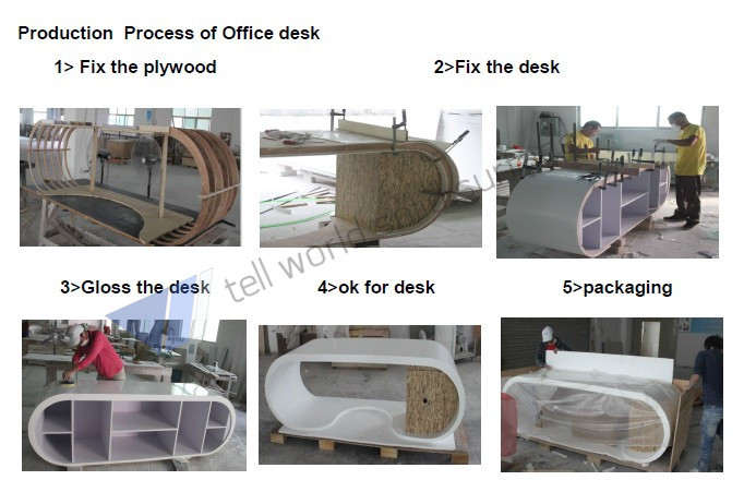 Chinese furniture office modern office executive secretary desk table