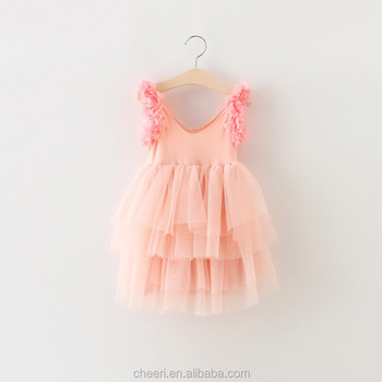 31c3536caa9 2017 Summer Beautiful Hot Sale Perfect Quality Wholesale Baby Girls Party  Wear Dress