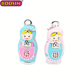 Memorable national characteristics 3D russian doll shaped charms accessories for kids