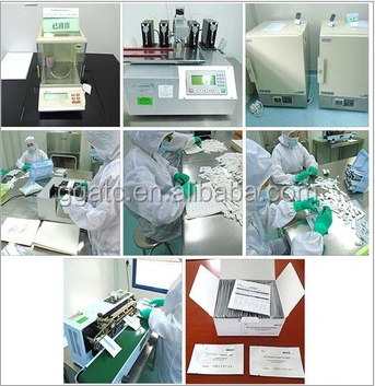 CE and FDA approved malaria rapid p v p f test kit