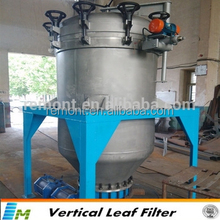 Filter leaf with quality assurance