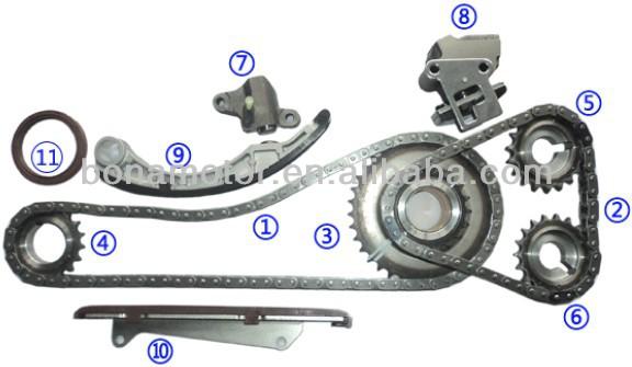 For Nissan Ka20de Timing Chain Kits - Buy For Nissan Ka20de Timing Chain  Kit,D22 Lpd22 1999 Timing Chain Kit,D22 Lpd22 1999timing Chain Kit Product  on