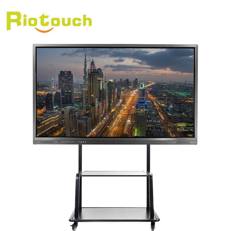 "smart display <strong>screen</strong> and smart distribution board interactive whiteboard GT 75"" Riotouch"