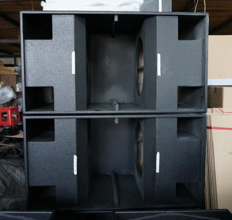 Dual 18 Inches Bass Empty Cabinet   Buy Empty Speaker Cabinets For Sale  Product On Alibaba.com