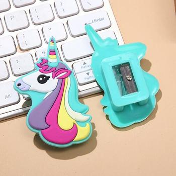 Rainbow Unicorn' Compact Pencil Sharpener