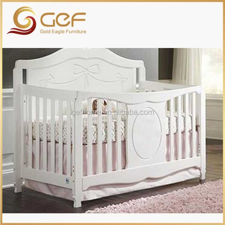 Estilo Americano Bebé Blanco Cama Cuna Gef-bb-39 - Buy Product on Alibaba.com