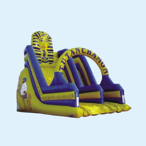hot sale Inflatable theme Egypt fun city, amusement park game inflatable bouncer slide for kids fun