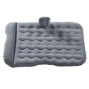 Funny Inflatable Car Air Beds full size mattress OEM For travelling