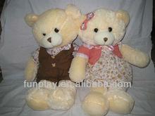 Russian girl with teddy bear