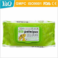 100% Soft Safe Pet Cleaning Moist Wet Wipe