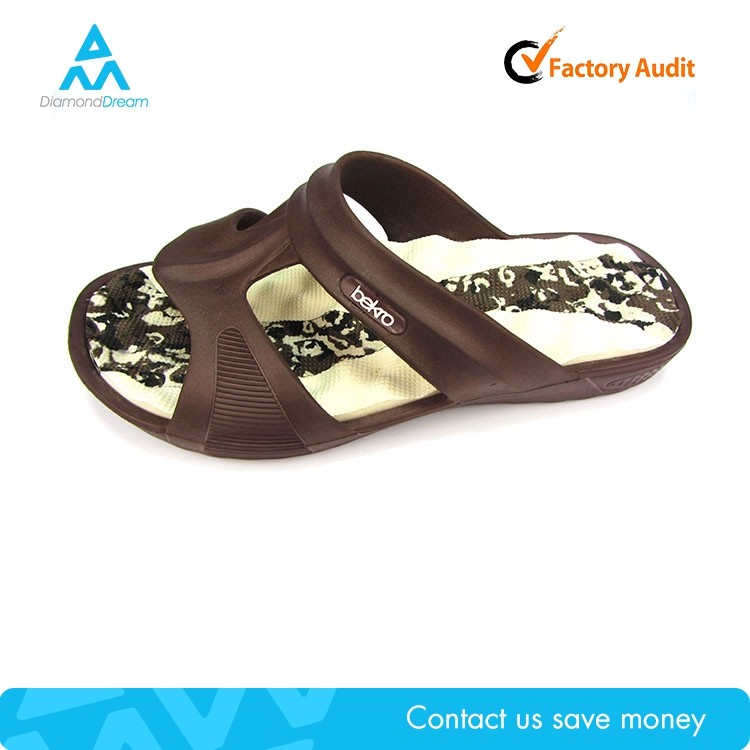 man clog eva injection flip flop , wholesale clog plastic shoe man