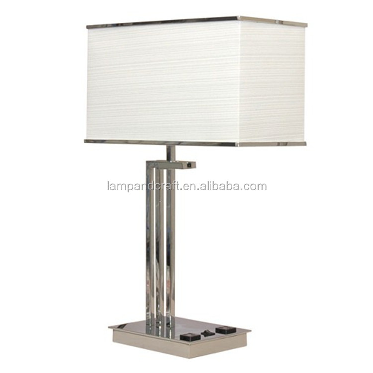 outlet buy hotel lamps with electrical outlets hotel bedside lamp. Black Bedroom Furniture Sets. Home Design Ideas