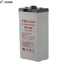 2 volts lead acid battery rechargeable battery 200ah for ups