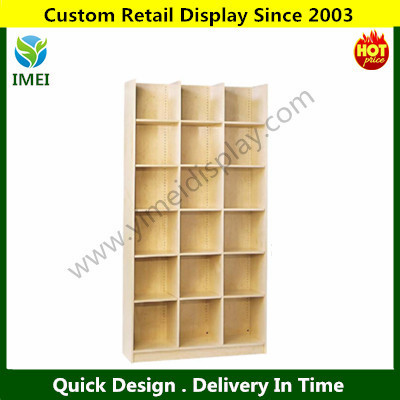 POP customer design wood bin cabinets rack display with panels YM15011