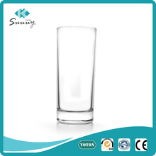 Promotion glassware 310d straight drink water glass cup with custom logo