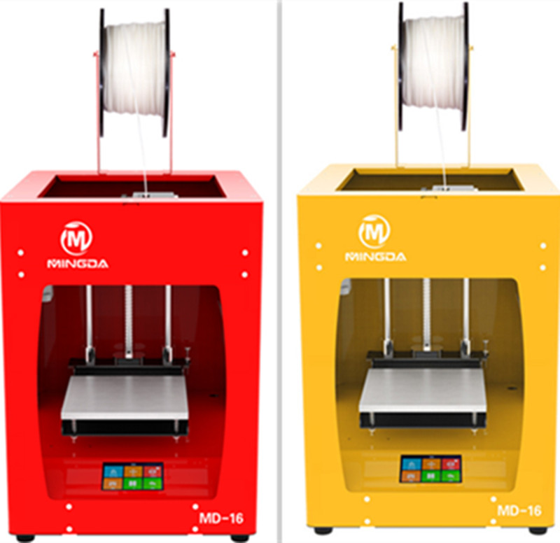 2017 for Personal Use 3D Printing Machine 3d printer plastic with Touchscreen and Single Extruder