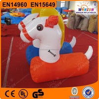 inflatable pony jumping animal inflatable animal toys for kids