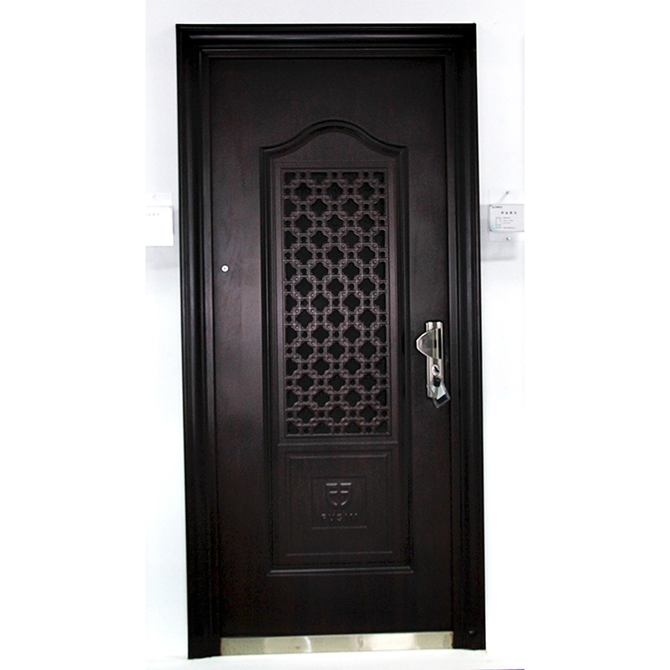 home Residential stainless steel fire security door safety door design with grill
