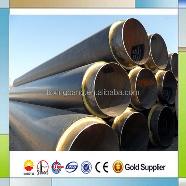 12 Carbon Steel Pre Insulated Pipe With Insulation Pu