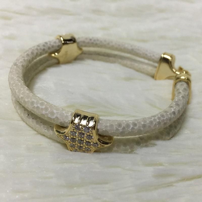 1pcs Customized Sting Real 18k Yellow Gold/white Gold/rose Gold ...