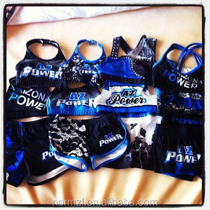 Cheerleading Athletic Custom Made Sublimation Sports Bra