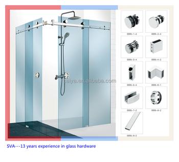 Shower room frameless sliding glass door fitting hardware view shower room frameless sliding glass door fitting hardware planetlyrics Image collections