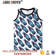 Mens Cheap Cotton Jersey Custom Tank Top Printing