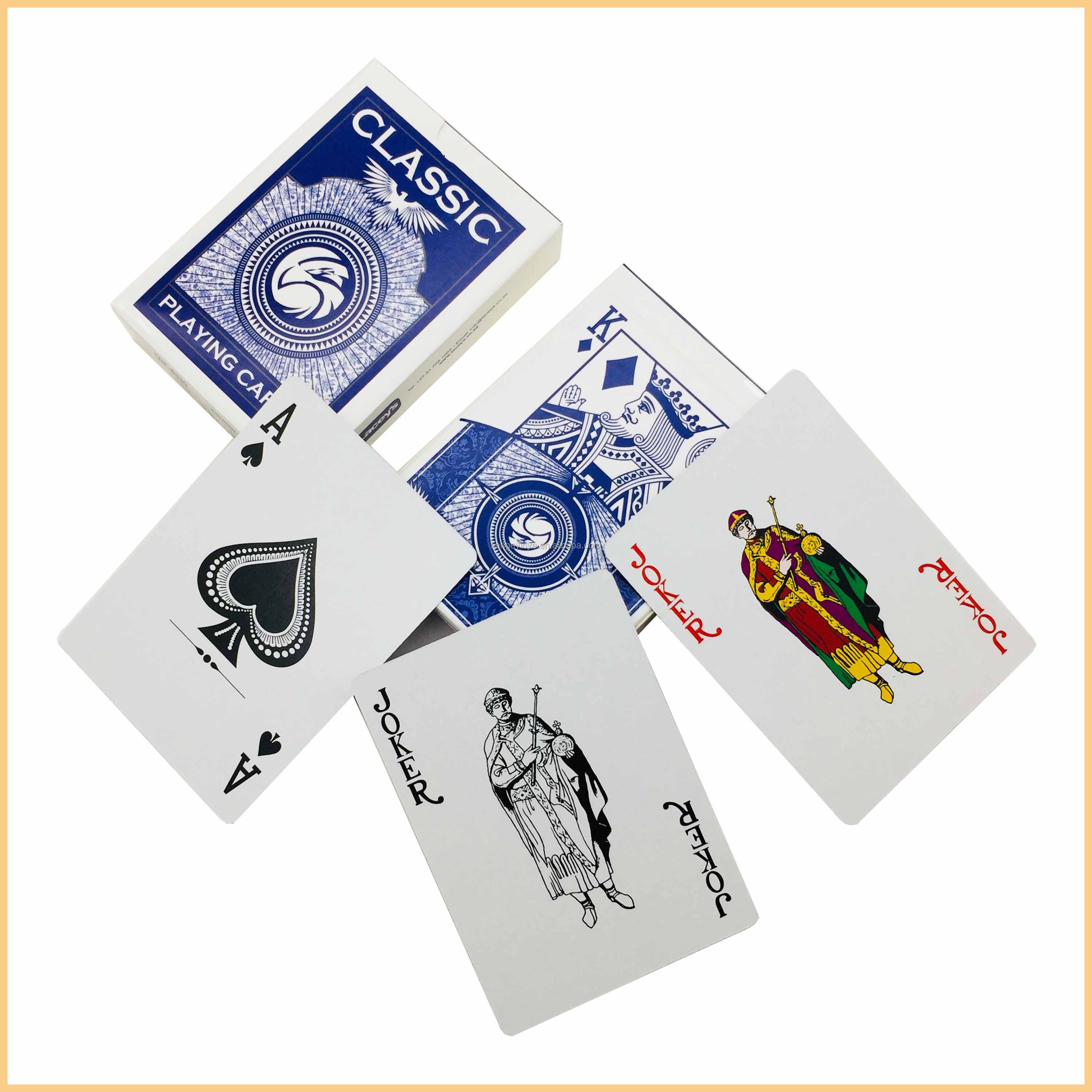 custom printing paper playing cards poker cards  buy