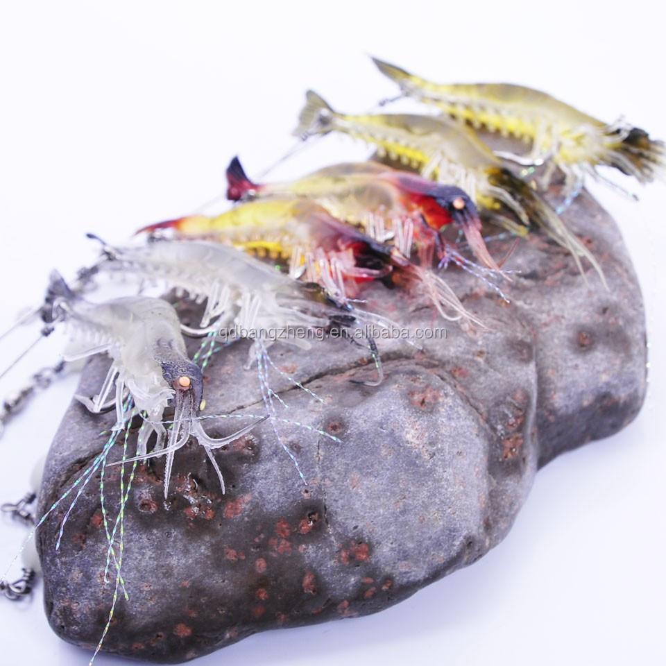 Quality Shrimp Luminous Artificial Bait With Swivel 3 ...