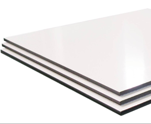 4x8 feet solid aluminum composite panel and acp sheet price for cheap exterior wall panel