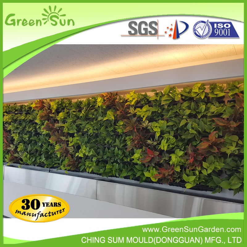Greensun Hot Sale Self Watering Vertical Garden Green Wall