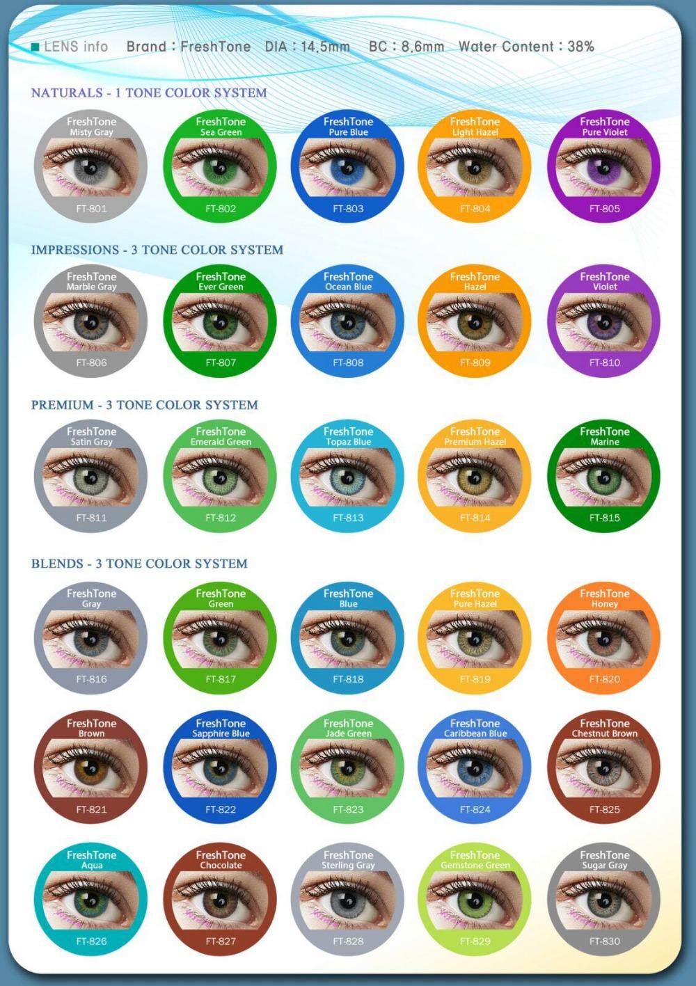 Sea Green Eye Color